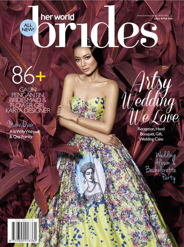 Her world BRIDES Indonesia Digital Magazine July–December 2016