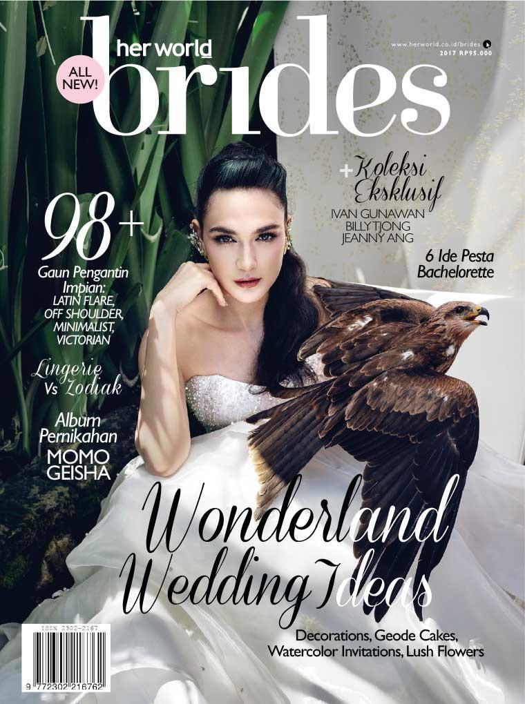 Majalah Digital her world BRIDES Indonesia Juli–Desember 2017