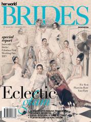 Cover Majalah her world BRIDES Indonesia Juli–Desember 2013