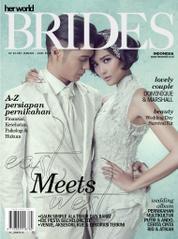 Cover Majalah her world BRIDES Indonesia Januari–Juni 2014