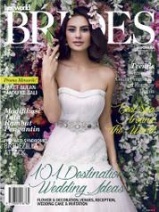Cover Majalah her world BRIDES Indonesia Agustus–Desember 2014
