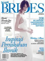Cover Majalah her world BRIDES Indonesia Januari–Juni 2015