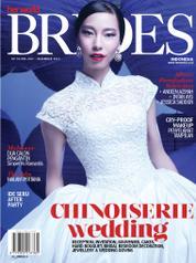 Cover Majalah her world BRIDES Indonesia Juli–Desember 2015
