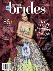 Her world BRIDES Indonesia Magazine Cover July–December 2016