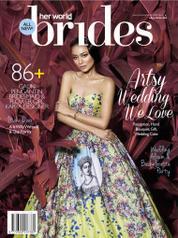 Cover Majalah her world BRIDES Indonesia Juli–Desember 2016