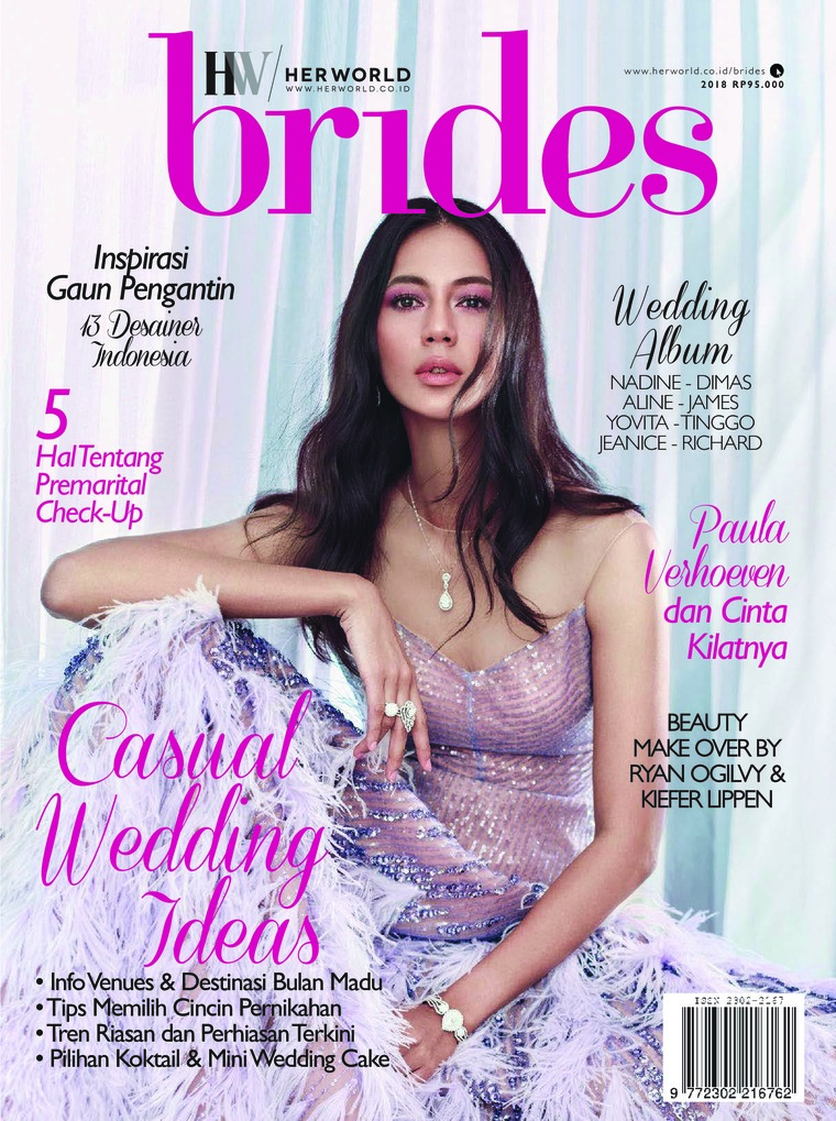 Her world BRIDES Indonesia Digital Magazine 2018