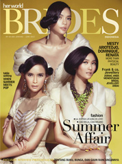 Her world BRIDES Indonesia Magazine Cover January–June 2012