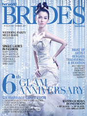 Her world BRIDES Indonesia Magazine Cover July–December 2010