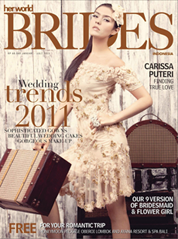 Her world BRIDES Indonesia Magazine Cover January–June 2011
