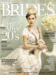 Her world BRIDES Indonesia Magazine Cover July–December 2011
