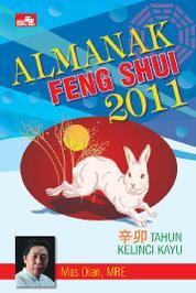 Cover Almanak Feng Shui 2011 oleh Mas Dian, MRE