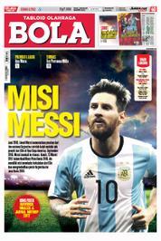Cover Majalah Tabloid Bola ED 2752 Maret 2017