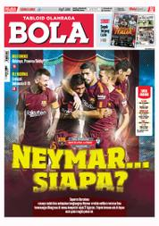 Cover Majalah Tabloid Bola ED 2802 September 2017
