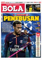 Cover Majalah Tabloid Bola ED 2804 September 2017