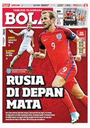 Tabloid Bola Magazine Cover ED 2806 October 2017