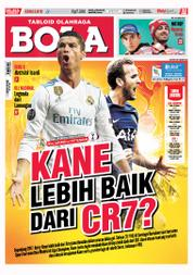 Cover Majalah Tabloid Bola ED 2810 Oktober 2017
