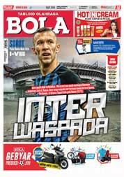 Cover Majalah Tabloid Bola ED 2826 Desember 2017