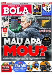 Tabloid Bola Magazine Cover ED 2854 March 2018