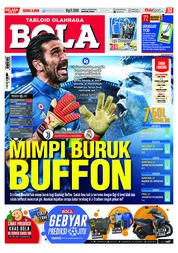 Cover Majalah Tabloid Bola ED 2858 April 2018