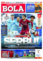 Cover Majalah Tabloid Bola ED 2860 April 2018