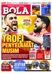 Cover Majalah Tabloid Bola ED 2870 Mei 2018