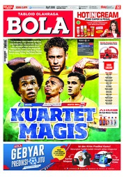 Cover Majalah Tabloid Bola ED 2879 Juni 2018