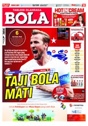 Cover Majalah Tabloid Bola ED 2881 Juni 2018