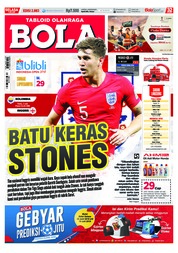 Cover Majalah Tabloid Bola ED 2883 Juli 2018