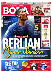 Cover Majalah Tabloid Bola ED 2885 Juli 2018