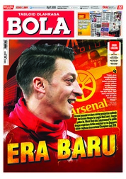 Cover Majalah Tabloid Bola ED 2889 Juli 2018