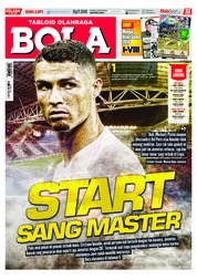 Cover Majalah Tabloid Bola ED 2891 Juli 2018
