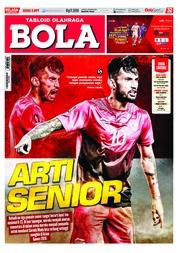 Cover Majalah Tabloid Bola ED 2897 Agustus 2018