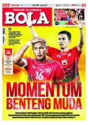 Cover Majalah Tabloid Bola ED 2899 Agustus 2018