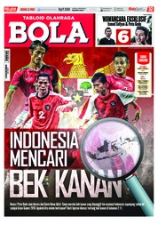Cover Majalah Tabloid Bola ED 2903 September 2018