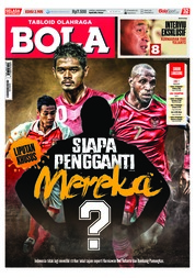Cover Majalah Tabloid Bola ED 2905 September 2018