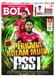 Cover Majalah Tabloid Bola ED 2907 September 2018