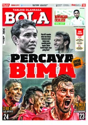 Cover Majalah Tabloid Bola ED 2911 Oktober 2018
