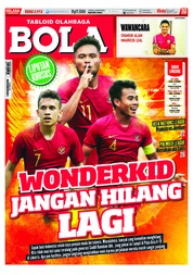 Cover Majalah Tabloid Bola ED 2913 Oktober 2018