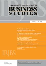 Cover Majalah International Research Journal of Business Studies April-Juli 2012