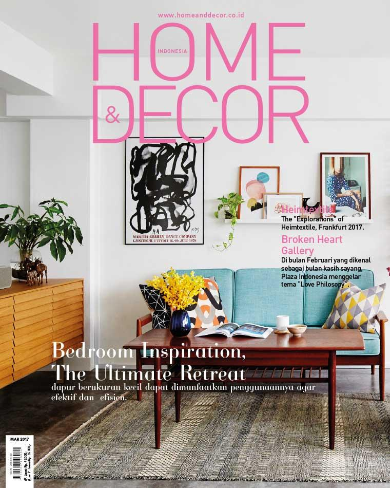 HOME & DECOR Indonesia Magazine March 2017