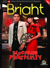 Cover Majalah Bright Februari 2018