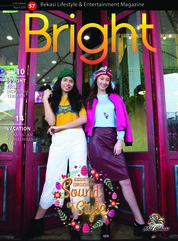 Cover Majalah Bright Maret 2018