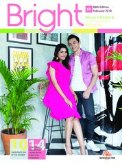 Cover Majalah Bright Februari 2019