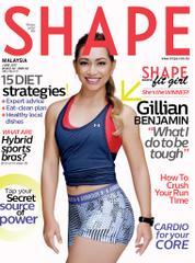 Cover Majalah SHAPE Malaysia Juni 2017