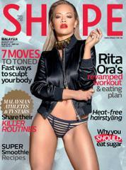 Cover Majalah SHAPE Malaysia Agustus 2017