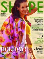 Cover Majalah SHAPE Malaysia November 2018
