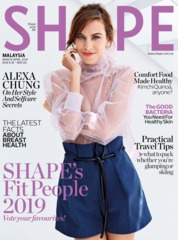 SHAPE Malaysia Magazine Cover March 2019