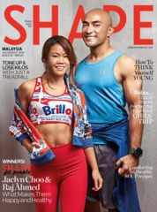 Cover Majalah SHAPE Malaysia Juli 2019