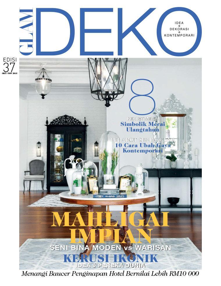 Deko Magazine glam deko magazine october november 2015 gramedia digital