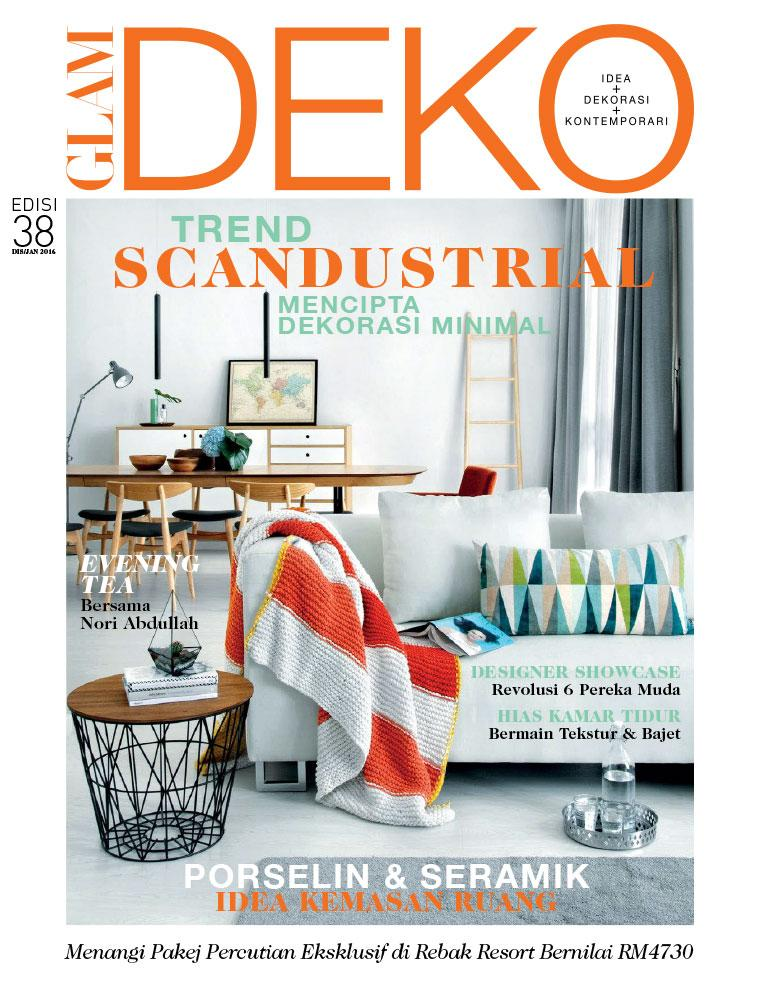 Deko Magazine glam deko magazine december january 2016 gramedia digital